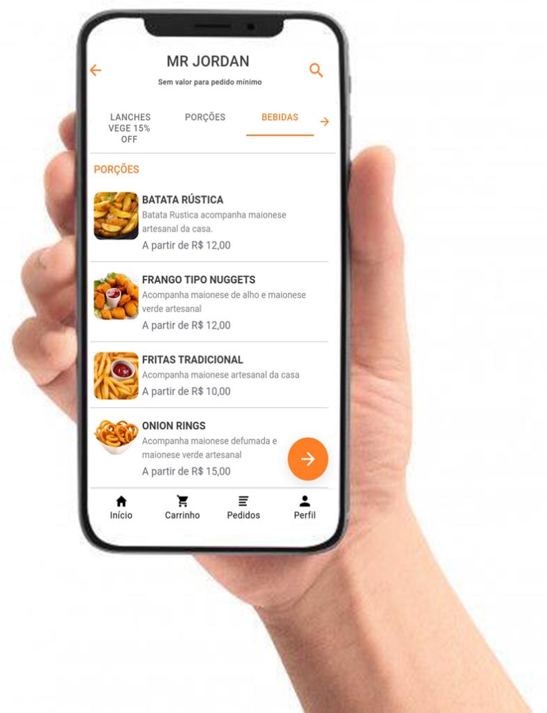 aplicativo de delivery próprio